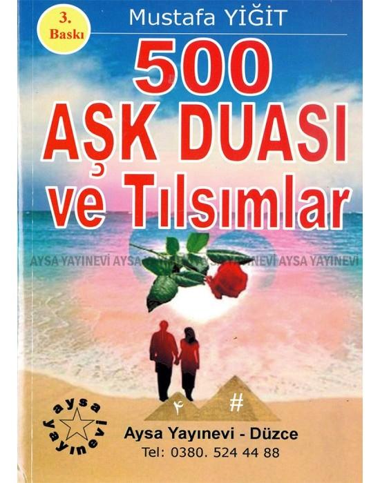 500 Aşk Duası ve Tılsımlar